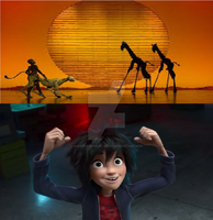 Hiro's Reaction To The Lion King Broadway by SmoothCriminalGirl16