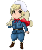 Chibi Finland by msVuonis