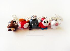 Super Mario Enemies Bracelet by mAd-ArIsToCrAt