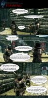 Skyrim Oddities: Training by Janus3003