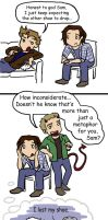 SPN: Sam's Got Is-shoes by blackbirdrose