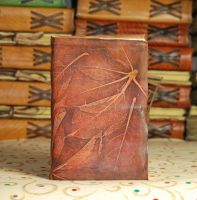 Unique Chestnut Journal by gildbookbinders
