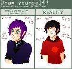 Draw Yourself meme by FLy-999