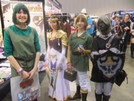 Armageddon Expo 2012 - Zelda group by fulldancer-alchemist