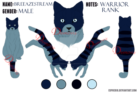 :OC: BreezeStream Reference Sheet by TheSongOfADemonsSoul