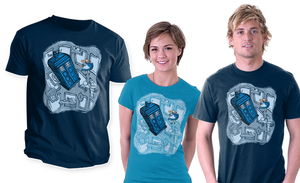 Falling on sale at TeeFury by khallion