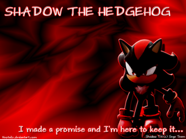Shadow The Hedgehog- Wallpaper by Neotailz