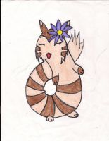 maddie the furret by pandabear0223