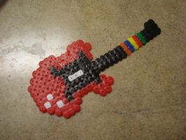 Guitar Hero guitar by fmagirl09