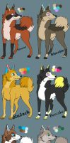 Male Breeders CLOSED by MichelsAdoptions