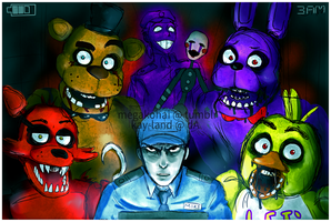 Five Nights at Freddy's by Kay-land