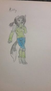 Kitty the Furry by DragonBallZ629