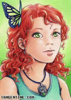 ACEO - Freckles 01 by firedaemon