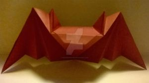 Origami Bat by MoonShineRiver