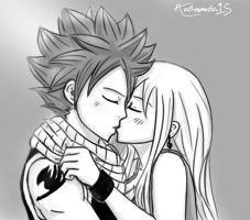 Kiss (sketch) by Andromeda15