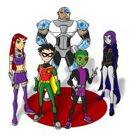 Teen Titans - Won't Give Up by jlochoap