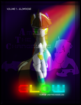 Glow Comic Cover by AmzyTheChangeling
