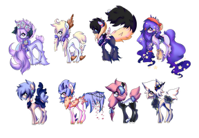 Themed Pony Adopts *CLOSED* by NaviPixels