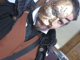 Phantom of the Steampunk Opera by Seraphine-Harmonium