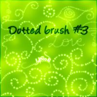 Swirly Dotz Brush 3 by LiNoR