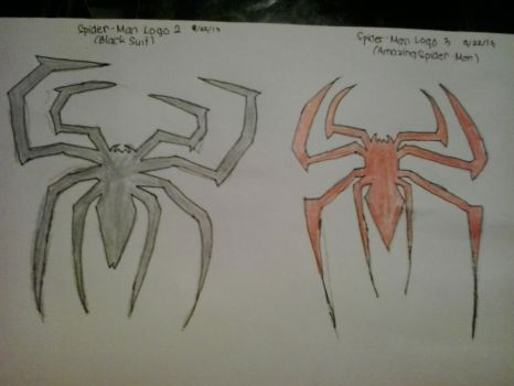 Spider-Man Logo 2 and 3 by bbbfanatic