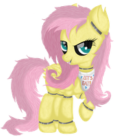 Fluttershy Animatronic (Five Night's at AJ's) by Law44444