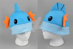 Mudkip Hat by SewDesuNe