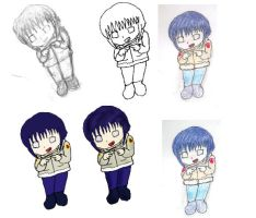 many faces of hinata chibi by hpfan-atic