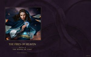 The Fires of Heaven ebook cover art wallpaper by ArcangHell