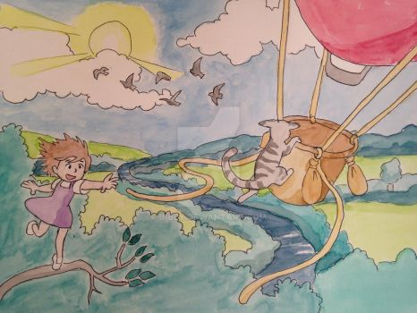 Balloon Ride by B-Bly