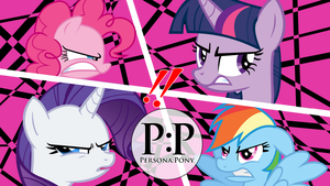 Persona: Pony All-Out Attack! by FallinWinter