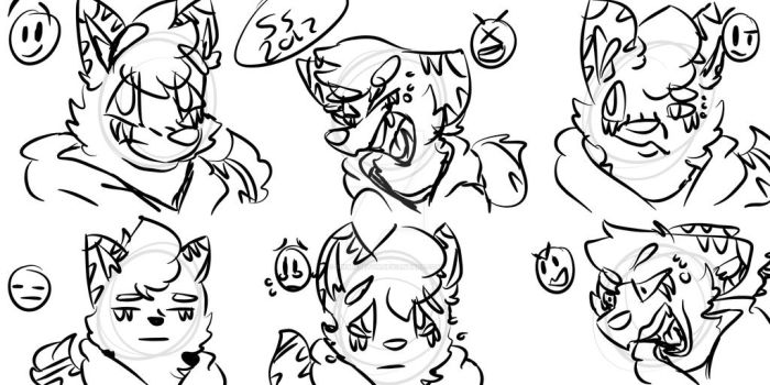 Some doodling of Emotions or some shit by SinSkeleton
