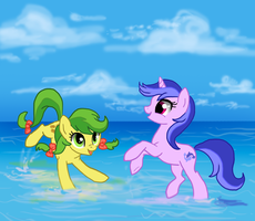 Apple Fritter and Sea Swirl by nirac