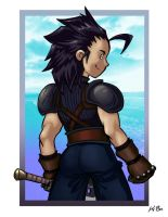 Zack Fair of Final Fantasy VII by kevinbolk