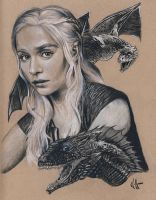 Mother of Dragons by choffman36