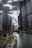 Over The Chicago River by rtkluge