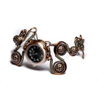 Steampunk bracelet watch 5 by CatherinetteRings