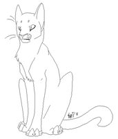 Feral Cat Template by Leathee