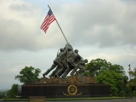 Marine Corps War Memorial by GeneralTate