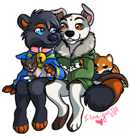 My Little Family by AddictionHalfWay