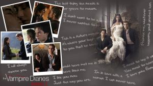 Vampire Diaries Wallpaper by dodo91085