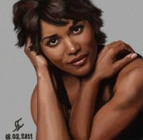Halle Berry by Arts82