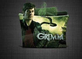 Grimm Folder Icon png and ico 512x512 HD by stavrosvran