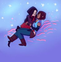 Korrasami stars and clouds by mmemento