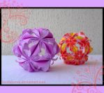 Kusudama - Arabesques by KarenKaren