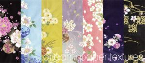 Origami Paper Textures by kasutera