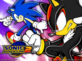 Sonic Adventure 2 :Wallpaper: by Sonitles