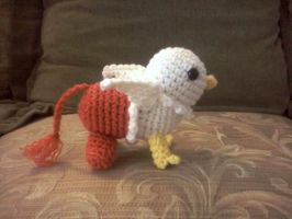 Baby Gryphon Pattern Test by DarkwingFrog