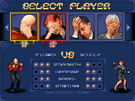 Streets of Facepalm: Select Player by Smilecythe