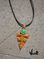 Yu-Gi-Oh! Zexal - Yuma's necklace by Valkyrie-21